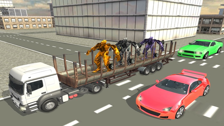 Car Robot Sim Transport Truck