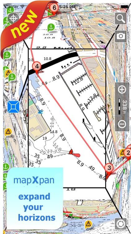 Aqua Map Maine ME Lakes - GPS Nautical Charts screenshot-0