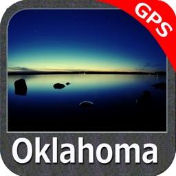 Oklahoma lakes - fishing GPS charts navigator