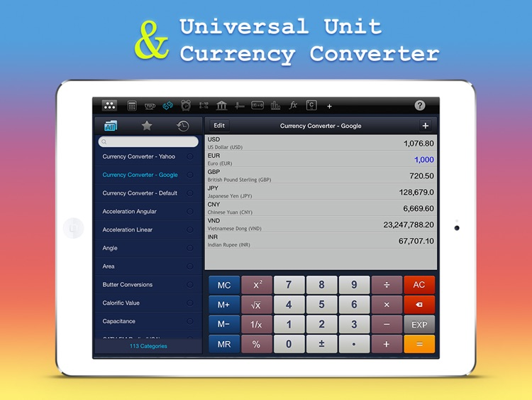Calculator : Scientific Calculator Unit Converter screenshot-3