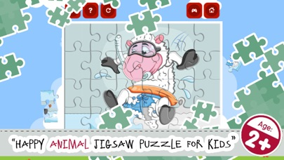 Zoo And Jungle Animals Jigsaw Puzzle Games