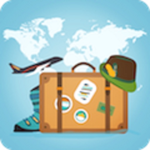 Traveler Suitcase Information Planner icon