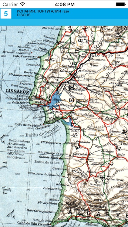 Spain, Portugal (1929). Historical map. screenshot-4