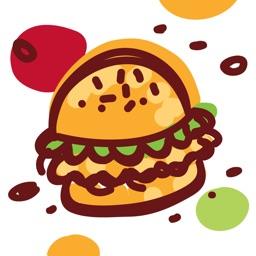 Fast food doodles!