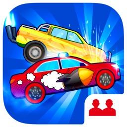 2 Player Car Race Games. Demolition derby car