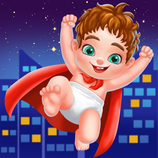 Newborn Baby Captain Underpants - Baby Care Games iOS App