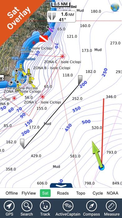 Marine: Greece West HD - GPS Map Navigator