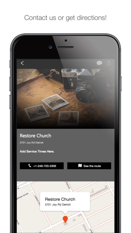 Restore Church Detroit