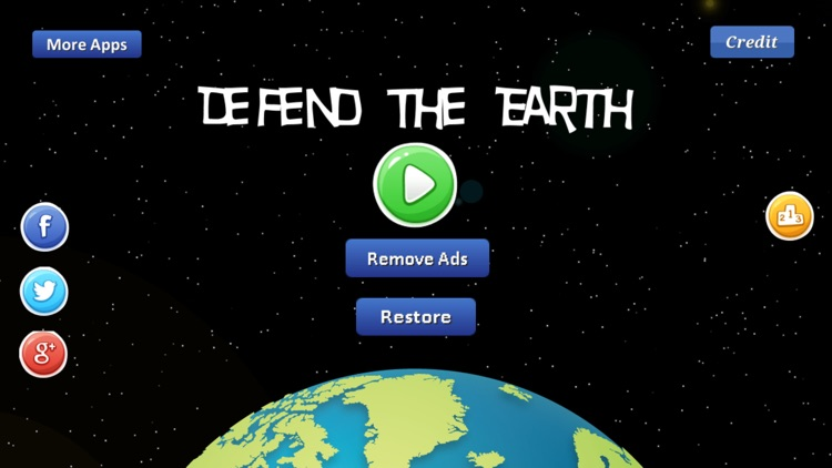 Defend The Earth Game