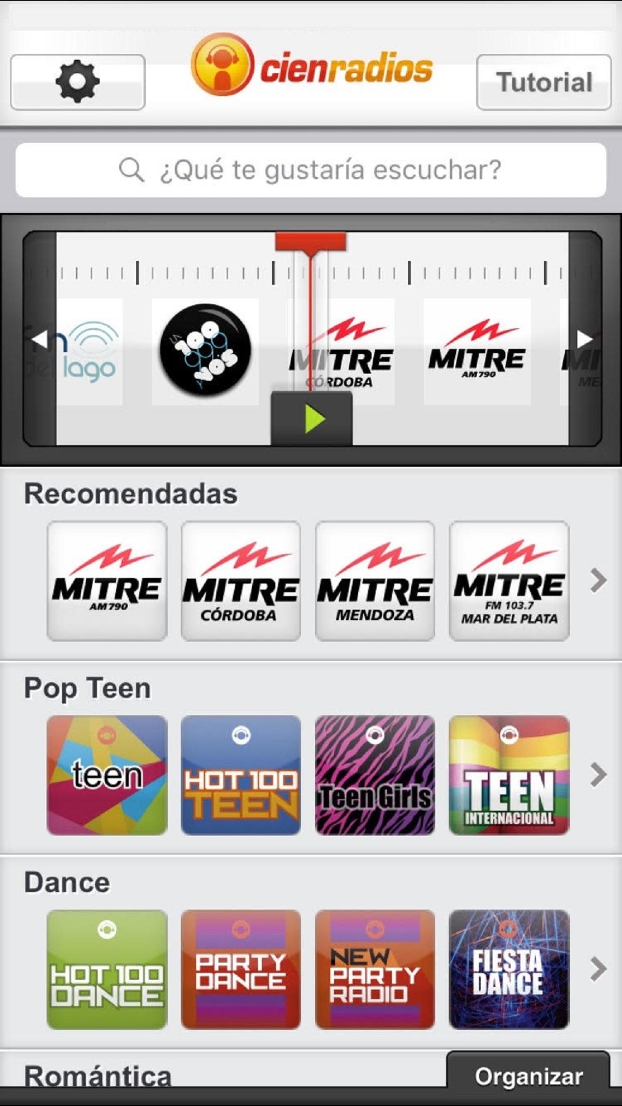 Cienradios Screenshot