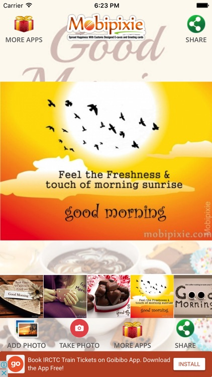Good Morning eCards & Greetings by Rapidsoft Systems