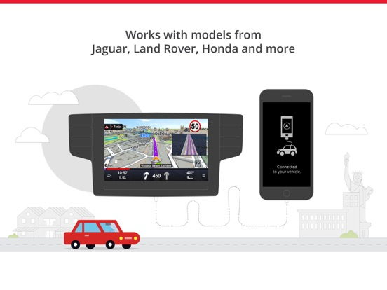Car Navigation: Maps & GPS Screenshots