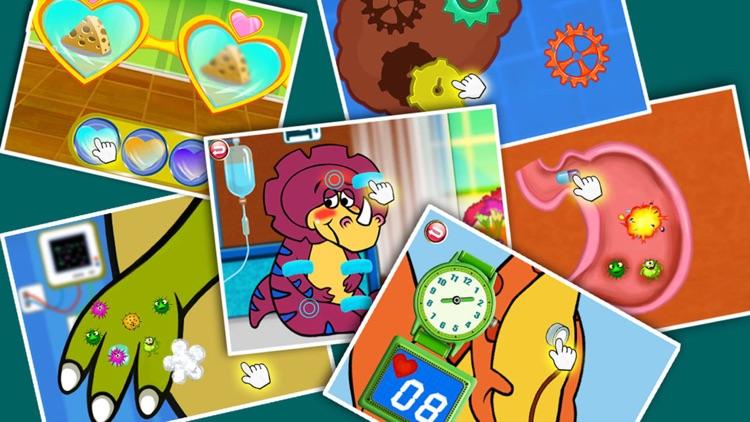 Dino Hospital -Dinosaur Doctor Games for Baby Kids screenshot-4
