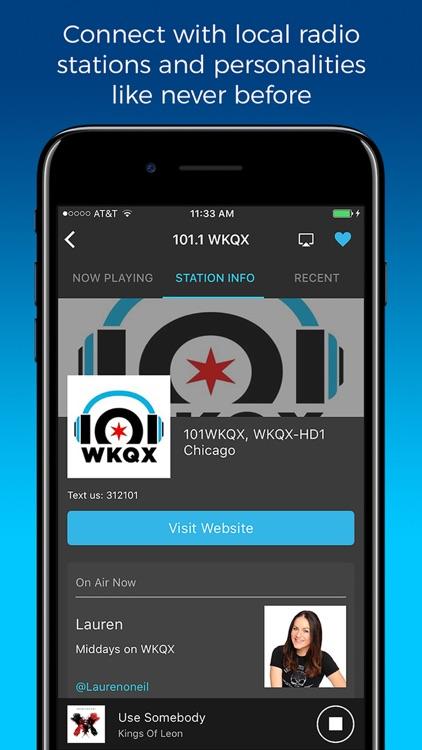 NextRadio - Live FM Radio screenshot-3