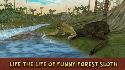 Sloth Forest Survival Simulator 3D