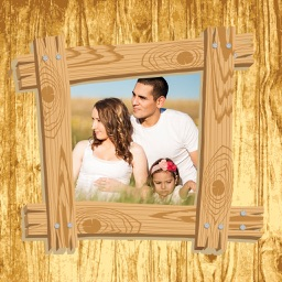 Wood Frames - Photo Frame And Collage Maker