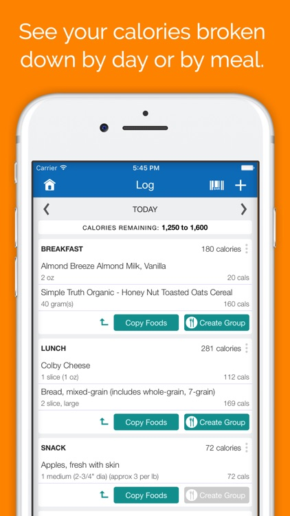 SparkPeople Calorie Tracker screenshot-2