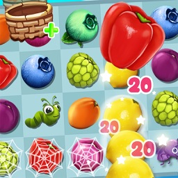 Candy Fruits Blast 3D Games