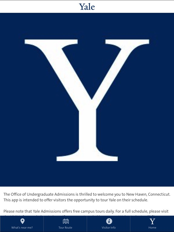 Yale Admissions Campus Tour-ipad-0