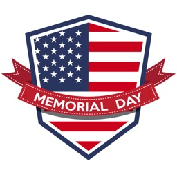 Memorial Day USA Sticker Pack