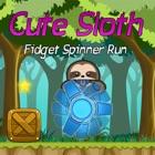 Cute Sloth Fidget Spinner ABC's Run & Learn icon