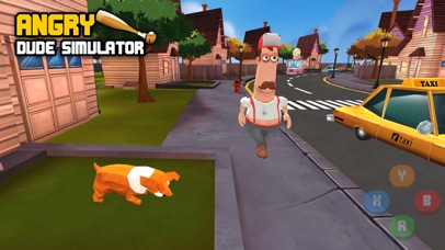Angry Dude Simulator screenshot 1