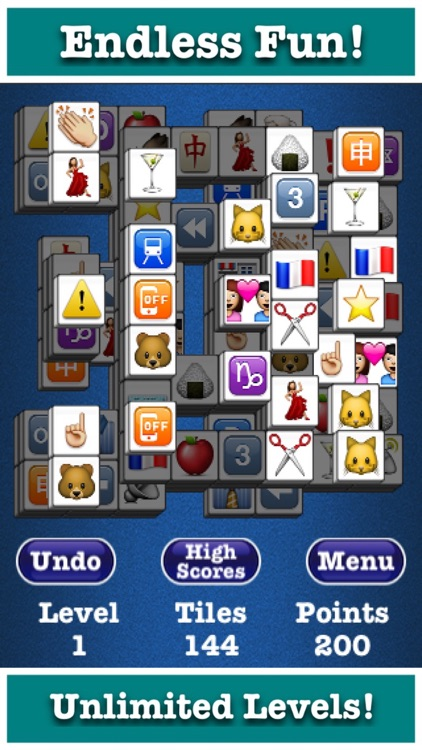 Mahjong Jewels™ Deluxe Brain Training Memory Game!