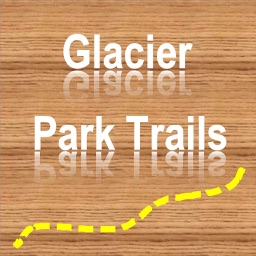 Trails of Glacier NP - GPS and Topo Maps Hiking