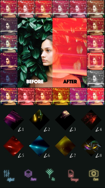 lighty - Image Editor Layout and Pic Frame Design