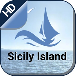 Sicily Island offline nautical charts for sailing