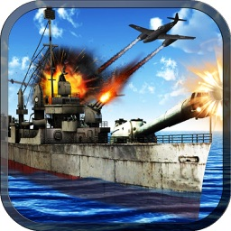 Navy Warship Gunner Fleet - WW2 War Ship Simulator