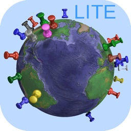 Pin Your World Lite -Tool to gather visited places