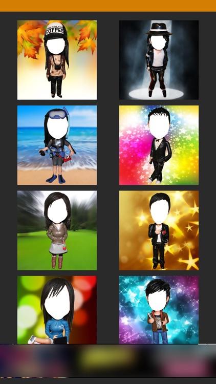 Bobblehead -Fun Selfie Profile photo for snapchat