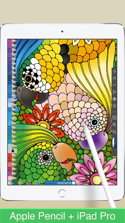 COLOREST - Glitter Pigment Coloring Book screenshot-4