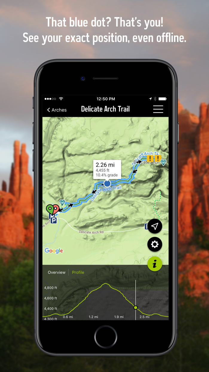 REI Co-op National Parks Guide Screenshot