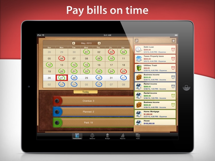 Money for iPad screenshot-3