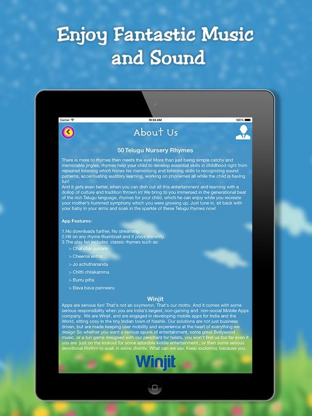 50 Top Telugu Kids Nursery Rhymes on the App Store
