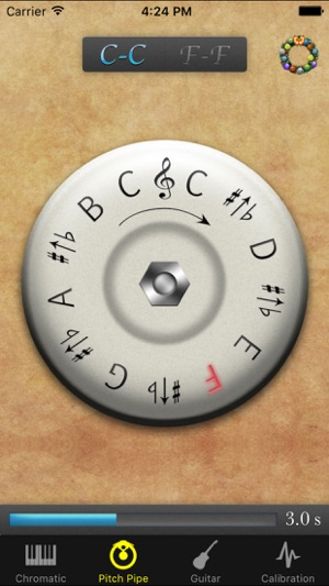 free pitch pipe app