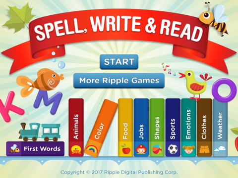 Spell, Write and Read - náhled