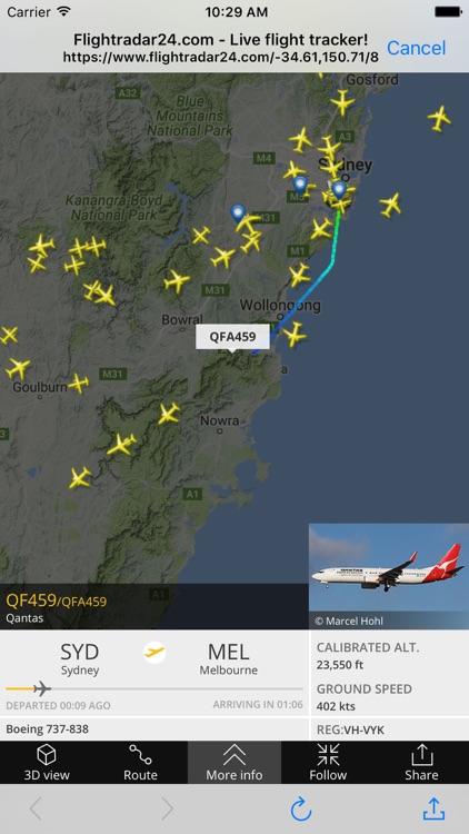 Planes Live Flight - Status Tracker and Radar