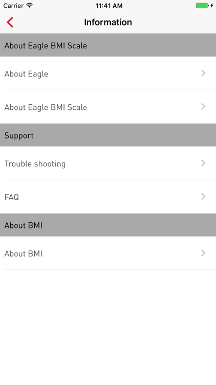 Eagle BMI App screenshot-2