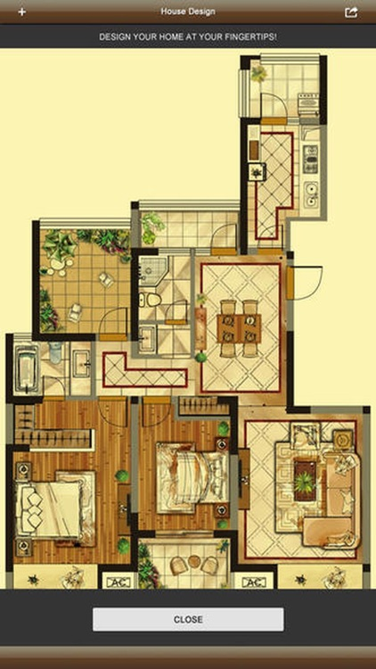 Home Design Plus - 3D Interior Design & Floorplan