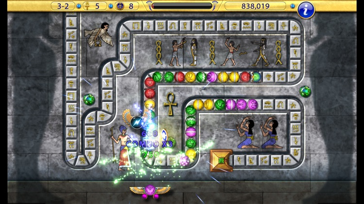 Luxor:  Amun Rising HD screenshot-3