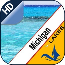 Michigan Lake offline nautical chart for boaters