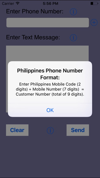 SMS Philippines-Send Filipino SMS in Tagalog screenshot-3