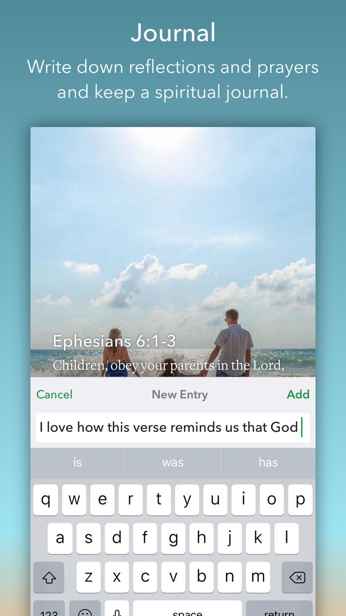 Daily Bible Inspirations Screenshot