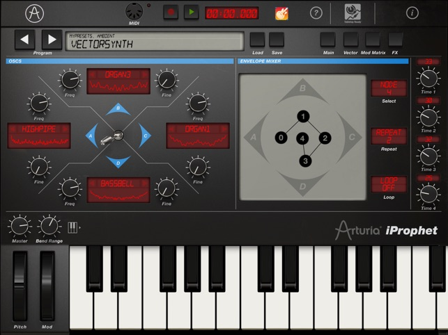 iProphet Synthesizer Screenshot