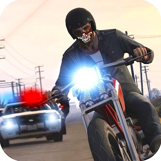 Motorbike Hot Pursuit :Extreme Police Chase