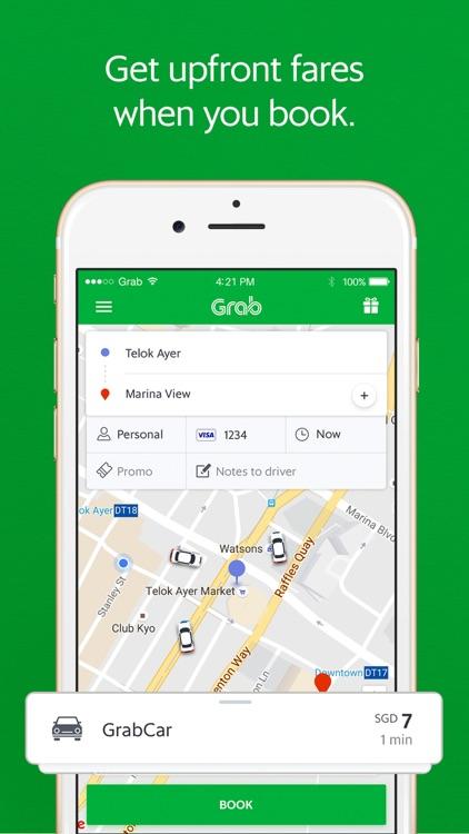 Grab - Ride Hailing App screenshot-0