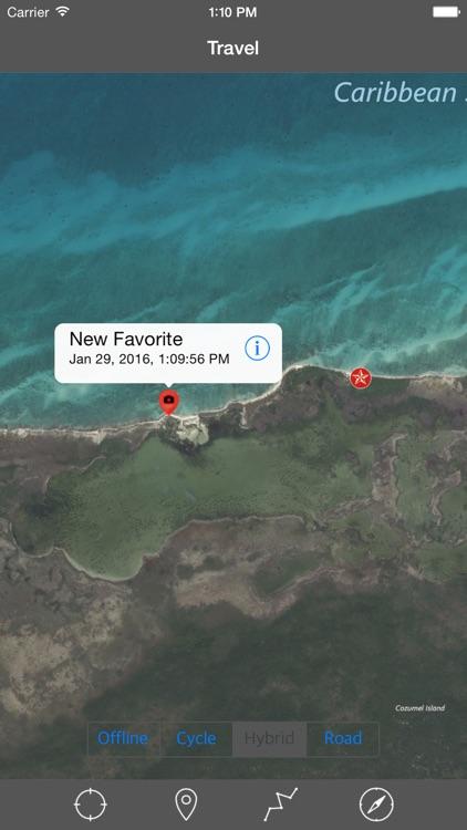 COZUMEL ISLAND – GPS Travel Map Offline Navigator